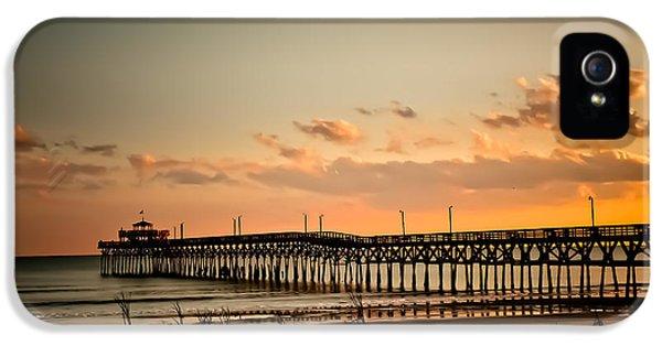Cherry Grove Pier Myrtle Beach Sc IPhone 5 / 5s Case by Trish Tritz