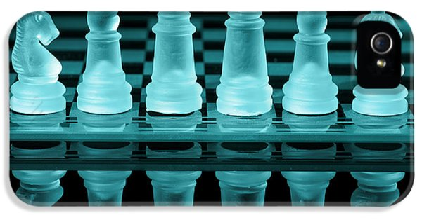 Strategy iPhone 5 Cases - Chess Board iPhone 5 Case by Amanda And Christopher Elwell
