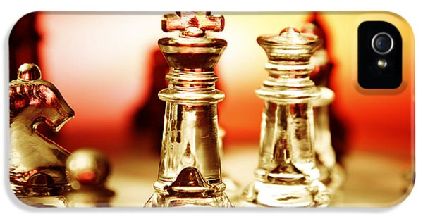 Strategic iPhone 5 Cases - Chess iPhone 5 Case by Les Cunliffe