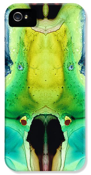 Ants iPhone 5 Cases - Chi Ant - aka Mr Happy Bug by Sharon Cummings iPhone 5 Case by Sharon Cummings