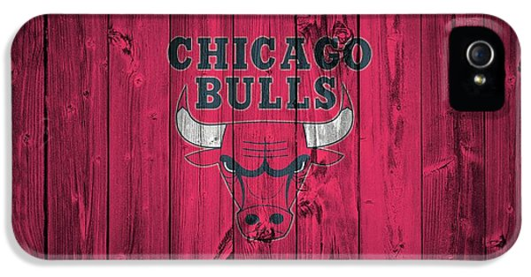 Pippen iPhone 5 Cases - Chicago Bulls Barn Door iPhone 5 Case by Dan Sproul