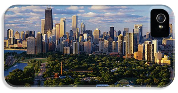 Navy iPhone 5 Cases - Chicago Il iPhone 5 Case by Panoramic Images