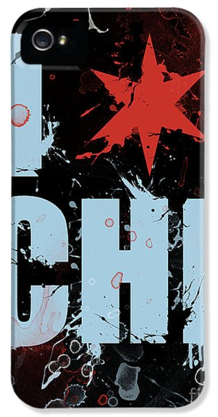 Michael Jordan iPhone 5 Cases - Chicago Love iPhone 5 Case by Mike Maher