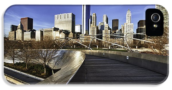 Chicago Skyline At Sunrise IPhone 5 / 5s Case by Sebastian Musial