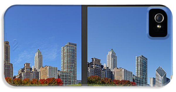 One Prudential Plaza Building iPhone 5 Cases - Chicago Skyline of Superstructures iPhone 5 Case by Christine Till