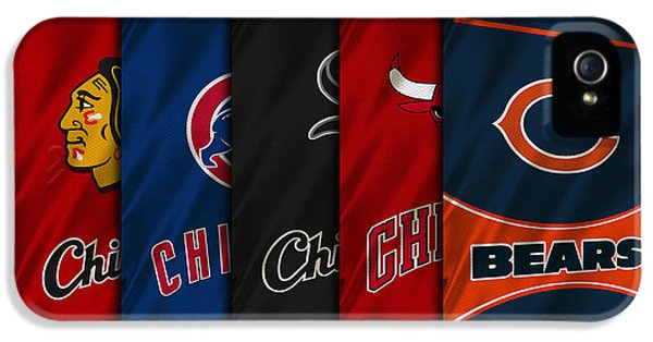 Nba iPhone 5 Cases - Chicago Sports Teams iPhone 5 Case by Joe Hamilton