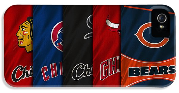 Nba iPhone 5 Cases - Chicago Sports Teams iPhone 5 Case by Joe Hamilton