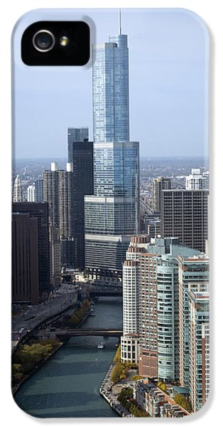 Chicago Trump Tower IPhone 5 / 5s Case by Thomas Woolworth