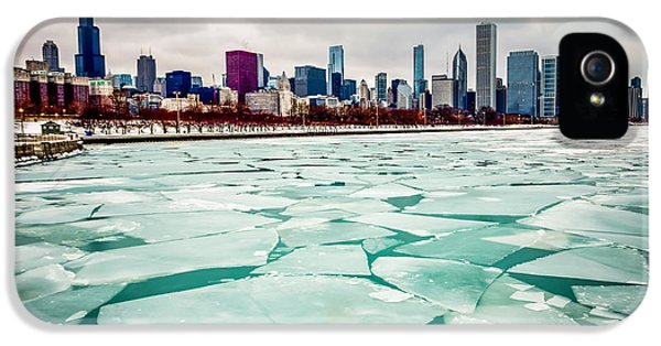 Chicago Winter Skyline IPhone 5 / 5s Case by Paul Velgos