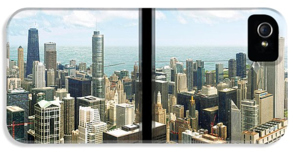 One Prudential Plaza Building iPhone 5 Cases - Chicagos Tallest iPhone 5 Case by Doug Kreuger