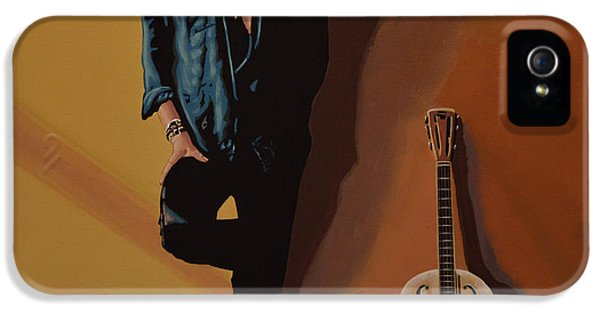 Festival iPhone 5 Cases - Chris Whitley iPhone 5 Case by Paul  Meijering