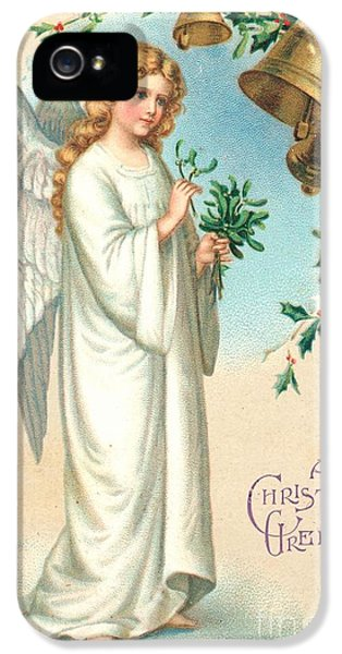 December iPhone 5 Cases - Christmas Angel iPhone 5 Case by English School