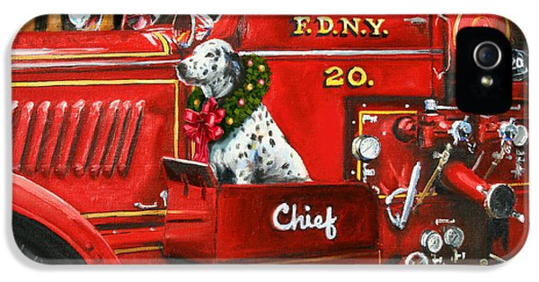 20 iPhone 5 Cases - Christmas Chief iPhone 5 Case by Paul Walsh