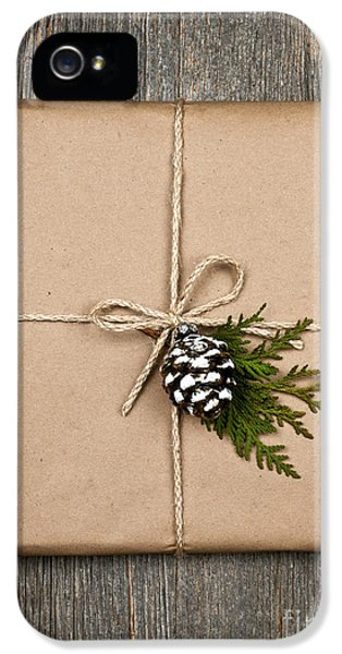 Wrapped iPhone 5 Cases - Christmas present  iPhone 5 Case by Elena Elisseeva