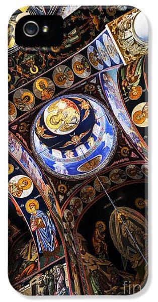 Mosaic iPhone 5 Cases - Church interior iPhone 5 Case by Elena Elisseeva