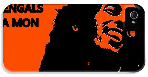 Cincinnati Bengals Ya Mon IPhone 5 / 5s Case by Joe Hamilton