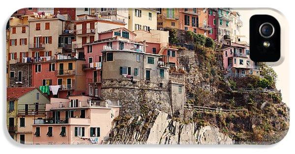 Cinque Terre Mediterranean Coastline IPhone 5 / 5s Case by Kim Fearheiley
