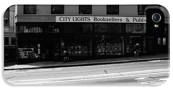 Store Front iPhone 5 Cases - City Lights  iPhone 5 Case by Aidan Moran