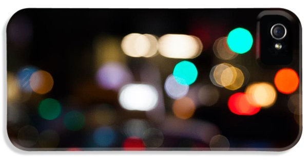 City iPhone 5 Cases - City Lights  iPhone 5 Case by John Farnan