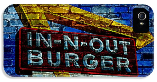 Eatery iPhone 5 Cases - Classic Cali Burger 2.4 iPhone 5 Case by Stephen Stookey