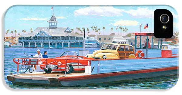 Balboa iPhone 5 Cases - Classic California iPhone 5 Case by Steve Simon