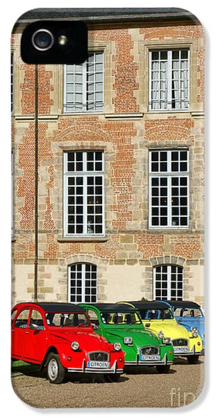 Restoration iPhone 5 Cases - Classic Citroen iPhone 5 Case by Olivier Le Queinec