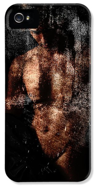 Erotic Male iPhone 5 Cases - Classic  iPhone 5 Case by Mark Ashkenazi