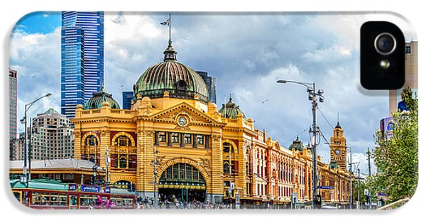 Storm Clouds iPhone 5 Cases - Classic Melbourne iPhone 5 Case by Az Jackson