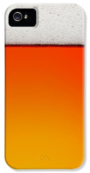 Backlight iPhone 5 Cases - Clean Beer Background iPhone 5 Case by Johan Swanepoel