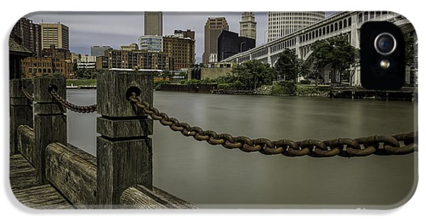 Cleveland Ohio IPhone 5 / 5s Case by James Dean