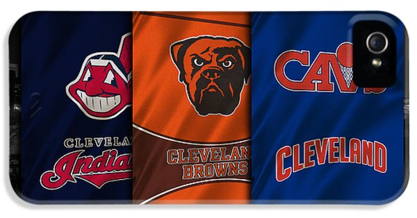 Cleveland Sports Teams IPhone 5 / 5s Case by Joe Hamilton