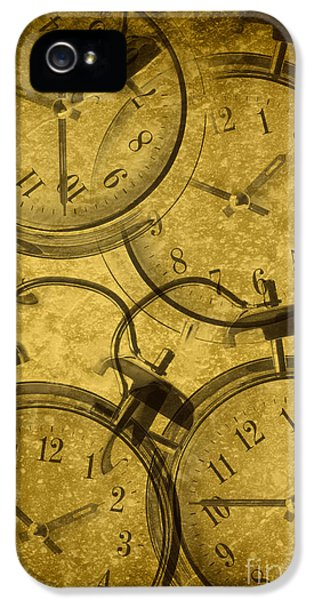 Clock iPhone 5 Cases - Clocks iPhone 5 Case by Amanda And Christopher Elwell