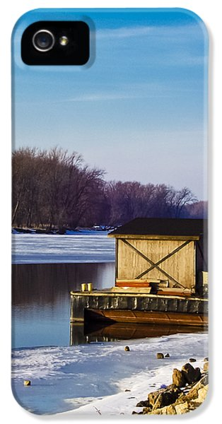 Shanty iPhone 5 Cases - Closed for the Season iPhone 5 Case by Christi Kraft