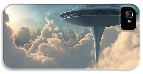 Scifi iPhone 5 Cases - Cloud City iPhone 5 Case by Cynthia Decker