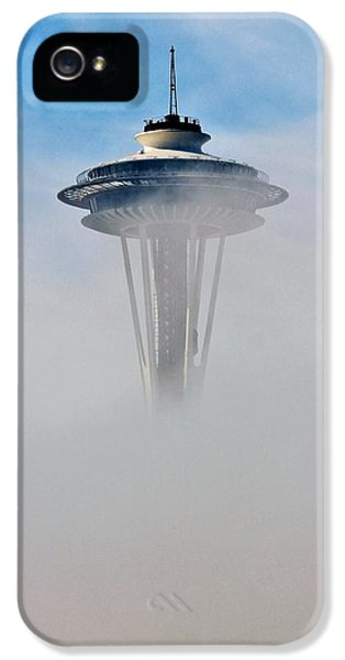 Scifi iPhone 5 Cases - Cloud City Needle iPhone 5 Case by Benjamin Yeager