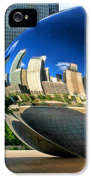 Cloud Gate iPhone 5 Cases - Cloud Gate Bean iPhone 5 Case by Christopher Arndt