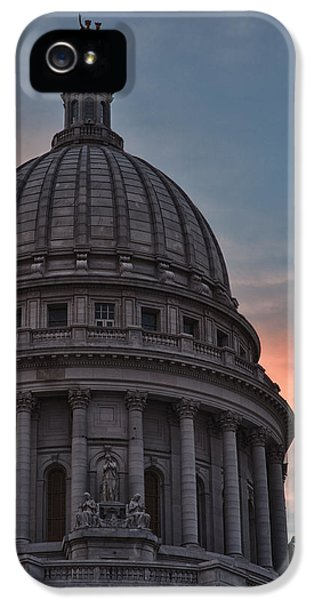 Hdr iPhone 5 Cases - Clouds Over Democracy iPhone 5 Case by Sebastian Musial