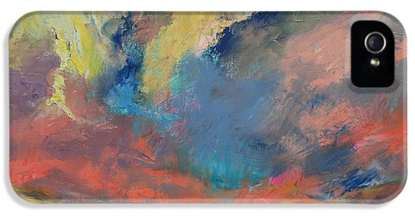 Tangerine iPhone 5 Cases - Cloudscape iPhone 5 Case by Michael Creese