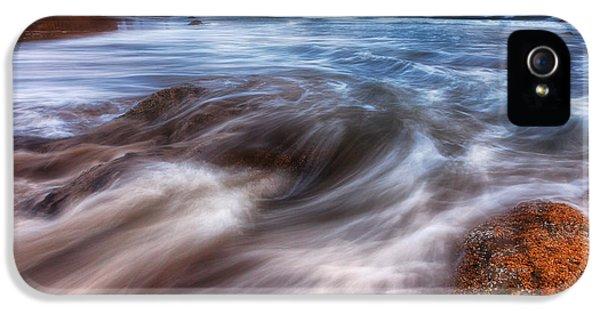Oregon Coast Landscapes iPhone 5 Cases - Coastal Flow iPhone 5 Case by Darren  White