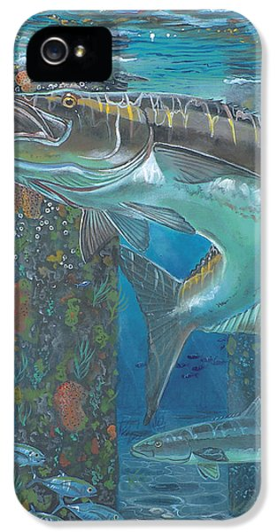 Cobia Strike In0024 IPhone 5 / 5s Case by Carey Chen