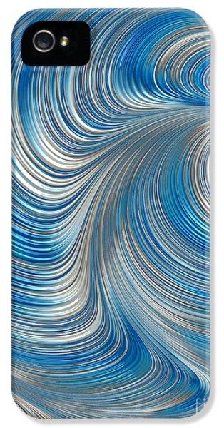 Creativity iPhone 5 Cases - Cobolt Flow iPhone 5 Case by John Edwards
