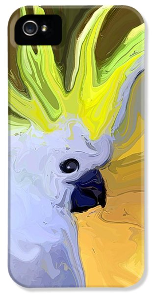 Cockatoo IPhone 5 / 5s Case by Chris Butler