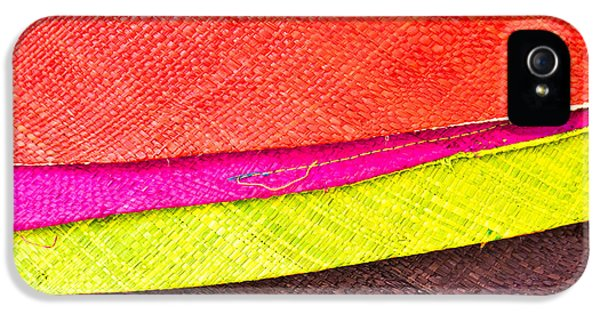 Fibre iPhone 5 Cases - Colorful hats iPhone 5 Case by Tom Gowanlock