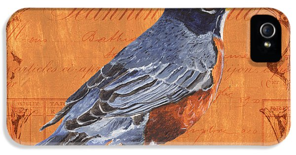 Songbird iPhone 5 Cases - Colorful Songbirds 2 iPhone 5 Case by Debbie DeWitt
