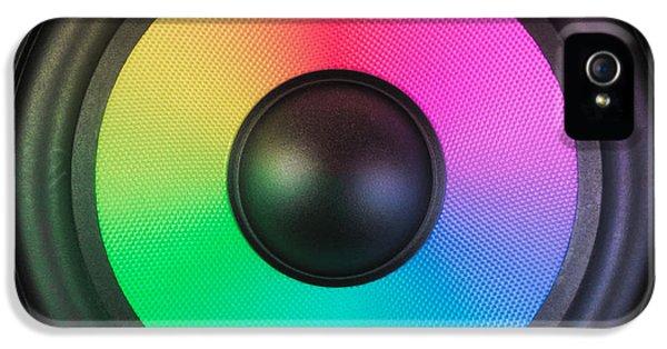 Spectrum iPhone 5 Cases - Colors of Noise iPhone 5 Case by Wim Lanclus