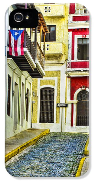 Culture iPhone 5 Cases - Colors of Old San Juan Puerto Rico iPhone 5 Case by Carter Jones