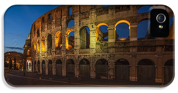 Arc iPhone 5 Cases - Colosseum iPhone 5 Case by Erik Brede