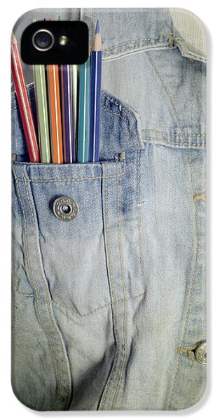 Coloured iPhone 5 Cases - Coloured Pencils iPhone 5 Case by Joana Kruse