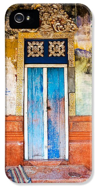 Striking iPhone 5 Cases - Colourful Door iPhone 5 Case by Dave Bowman