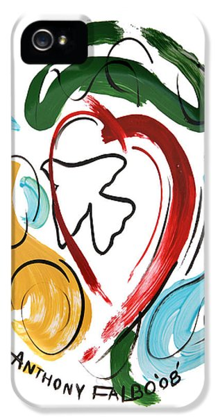 Holy Spirit iPhone 5 Cases - Come Into My Heart iPhone 5 Case by Anthony Falbo